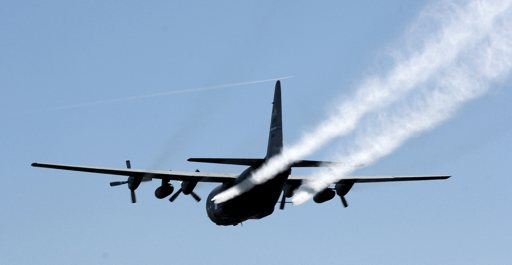 Air Force sprays for mosquitoes after Hurricane Ike by U.S. Air Force Airman 1st Class Chad Kellum