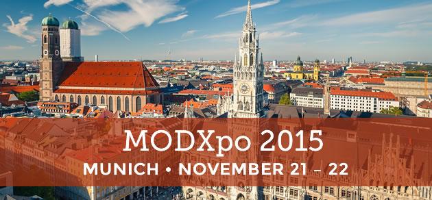 MODXpo 2015, Munich, November 21–22, 2015