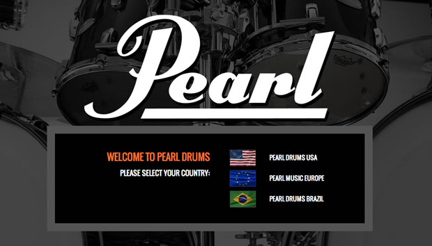 Pearl Drums Home Page