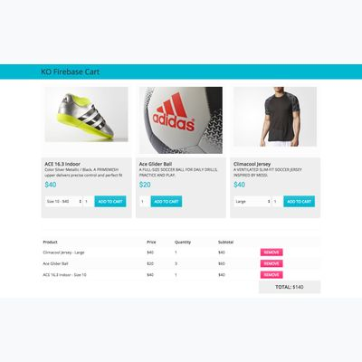 Simple Shopify first screenshot