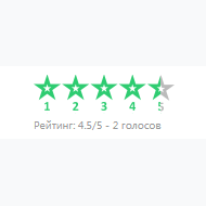 FiveStarRating first screenshot