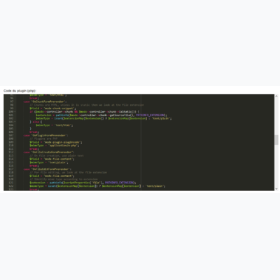 Simple Ace Code Editor first screenshot