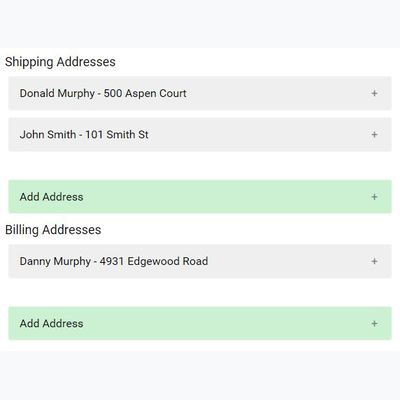 AddressManager for Commerce first screenshot