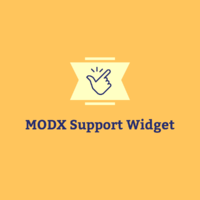 MODX Support Widget Icon