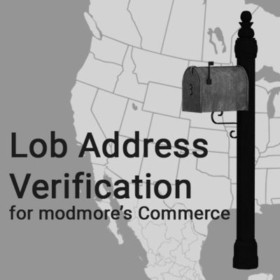 Lob Address Verification for Commerce first screenshot