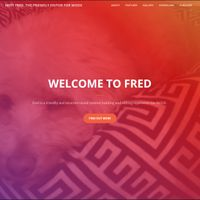 Fred Creative One Page Theme Icon