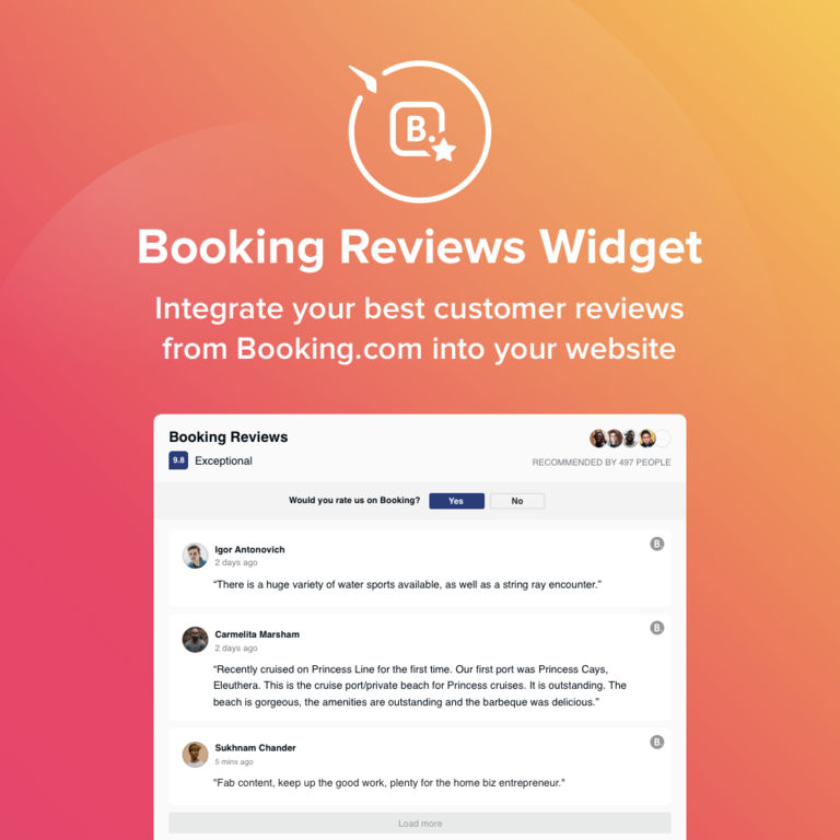 Booking.Com  Specifications
